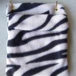 FLEECE BONDING POUCH for Small Pets..